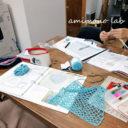 会社帰り編み物教室
